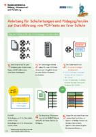 Durchführung PCR Schule